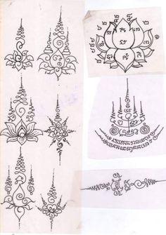 Tattoo lotus buddha tat 60 New Ideas Cambodian Tattoo, Khmer Tattoo, Thai Tattoo, Lotus Tattoo, Buddha Symbol Tattoo, Tattoo Buddhist, Buddha Tattoos, Yantra Tattoo, Sak Yant Tattoo