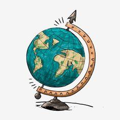 Cartoon Earth Hand Drawn Earth Cartoon Globe Hand Painted Globe Vector and PNG Globe Vector, Painted Globe, Hand Painted, Painted Earth, Globe Drawing, Earth Drawings, Globe Icon, Cartoons, Hand Drawn Typography