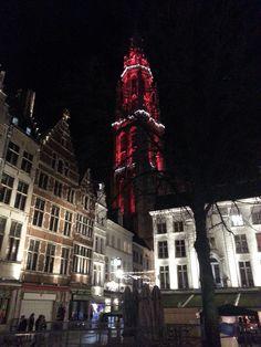 kerstmarkt Grote mark & O.L.V. Kathedraal Antwerpen 2015