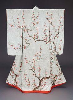 Non-Western Historical Fashion - ephemeral-elegance: Furisode Kimono, Edo Period,. Yukata, Furisode Kimono, Silk Kimono, Kimono Fabric, Motif Kimono, Kimono Design, Kimono Pattern, Era Edo, Edo Period