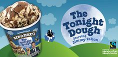 Jimmy Fallon is Getting His Own Ben & Jerry's Ice Cream Flavor Called 'The Tonight Dough'