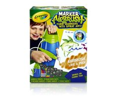 Marker Airbrush Product | crayola.com Z and M