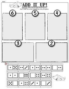 FREEBIE! Composing Numbers/Addition: Kindergarten Math - Class of Kinders - TeachersPayTeachers.com