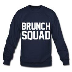 Brunch Squad, Unisex Sweatshirt