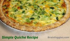 Simple Quiche Recipe