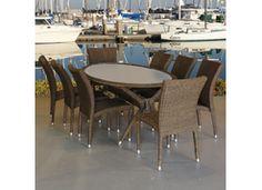 IH Oval Dining Set Patio Furniture