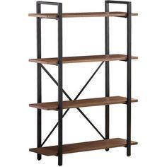"Coaster ""X"" Shape Bookcase"