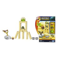 STAR WARS ANGRY BIRDS JENGA TATOOINE BATTLE GAME on Kwerkee