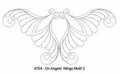 On Angels' Wings Motif 2