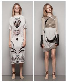 Anime-Inspired Apparel - The Anne Sofie Madsen SS14 Collection is Dynamic (GALLERY)