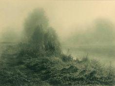 steichlitz: River Landscape, by Léonard Misonne