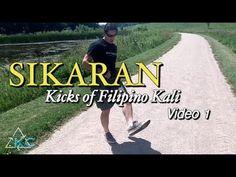 Kali Escrima Kicks, video 1 - SIKARAN - Kicks Of The Day Kali Martial Art, Martial Arts, Kali Escrima, Learn Krav Maga, Tactical Training, Evolution T Shirt, Fitness Gifts, Aikido, Self Defense