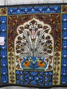 More amazing applique from tent makers of Cairo - and they're MEN! Gorgeous work.