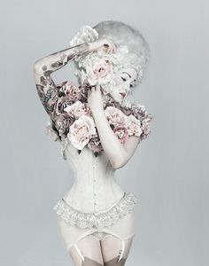 Corset, Can I do this exact shooot please.