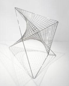 Parabola Chair, 2013 Carlo Aiello www.carloaiello.com via contemporist.com  for #material #form
