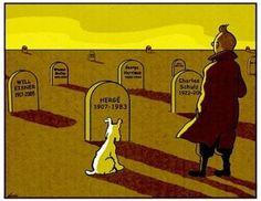Tomba d' Hergé