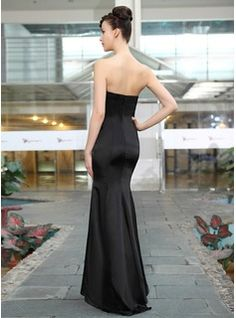 Maximum Strapless Satijn Silk Blend 100%Polyester Applicaties Kant Mouwloos…