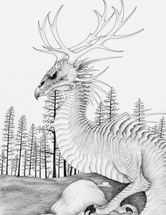 A giant serpent sometimes called 'Devil of the Woods' that is believed to live in Finlan. Mythical Creatures List, Small Snakes, Arctic Tundra, Sea Serpent, A Beast, Archetypes, Folklore, Mythology, Fairy Tales