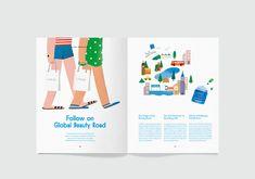 Magazine Design Inspiration, Magazine Layout Design, Page Layout Design, Book Layout, Graphic Design Books, Book Design, Editorial Layout, Editorial Design, Newspaper Design