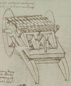 Leonardo da Vinci - Codice Atlantico - Organo a 33 canne, study Milano Giorno e Notte - We Love You! http://www.milanogiornoenotte.com