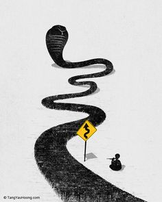 The Snake Charmer. Tang Yau Hoong: Web | Shop | Facebook | Tumblr | Twitter | Behance