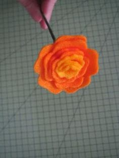Felt Flower - Tutorial