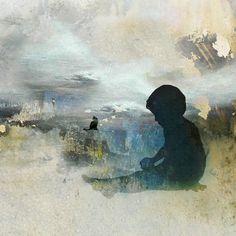 "Saatchi Art Artist eva christin laszka; Painting, ""Up there"" #art"