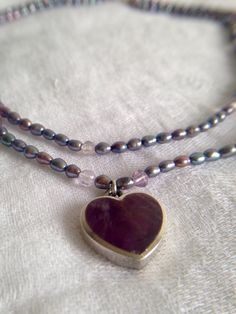 A personal favorite from my Etsy shop https://www.etsy.com/ca/listing/473525404/fresh-water-pearls-with-silver-amethyst