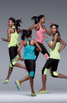 Run bright. #Nordstrom #Running #GetMoving