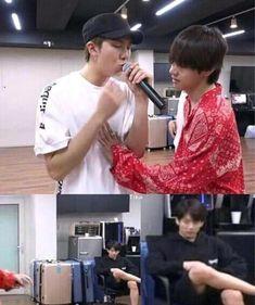 jungkook being jealous Namjoon, Bts Taehyung, Bts Bangtan Boy, Taekook, Fanart Bts, Vkook Fanart, Foto Bts, K Pop, Vkook Memes