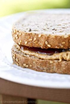 Constructing A Healthy Peanut Butter & Jelly Sandwich