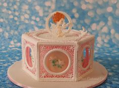 Royal icing lace and Cherub by Prachi DhabalDeb