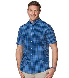 Chaps® Men's Short Sleeve Lansing Woven | Younkers