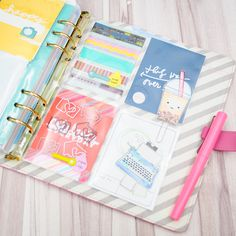 Happiness is Scrappy: Planners | From Project Life Pockets to Planner Storage