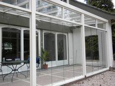 Veranda Garden Dreams - glasschuifwandsystemen - tuinkamer Pergola, Exterior, Windows, Garden, Outdoor Decor, Room, House, Home Decor, Tatuajes