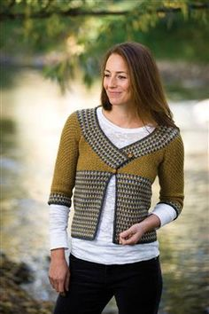 This is a favorite crochet cardigan. I can see why. Riverstone Cardigan - Crochet ePattern - Media - Crochet Me