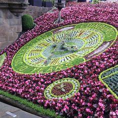 Edinburgh Floral Clock, Edinburgh, Tree Skirts, Beach Mat, Garden Design, Scotland, Outdoor Blanket, Christmas Tree, Homeland