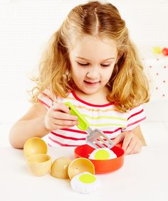 ELC Cracking Eggs with Frying Pan