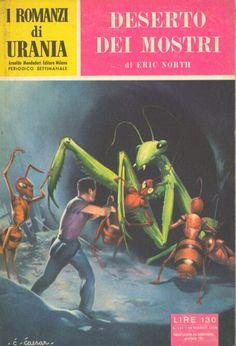 114  DESERTO DEI MOSTRI 19/1/1956  THE ANT MEN  Copertina di  C. Caesar   ERIC NORTH