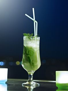 Great Mojito Drinks served at the bar!