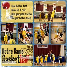 For Renee's sports book. Photo Layouts, Page Layout, Scrapbooking Layouts, Scrapbook Pages, Basketball Books, Baseball Scrapbook, Forever Memories, Sports Page, Sport Quotes