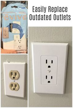 I had no idea it was this easy to replace the old beige outlets!