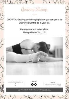 Growing Always