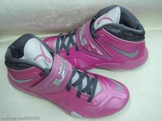 ee4a3eb407e Nike LeBron Zoom Soldier VII  Think Pink  As the Nike LeBron X has already  seen an unreleased