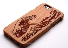Wood iPhone Case Wave Wooden iPhone 6 Case iPhone 5/5s/5c iPhone 6 Plus Case Samsung Galaxy S3/S4/S5/S6 Case Note2/3/4 Case Covers Gift by chaper33 on Etsy https://www.etsy.com/listing/238037106/wood-iphone-case-wave-wooden-iphone-6