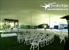 Ceremony tents for a lasting impression