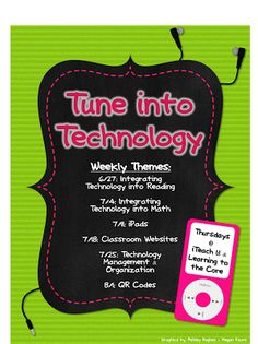 Tune into Technology - classroom website