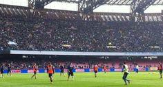 Napoli: 15 mila persone allo stadio per allenamento del Napoli