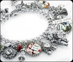 Hey, I found this really awesome Etsy listing at https://www.etsy.com/listing/110817470/fairy-tales-charm-bracelet-silver-once