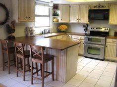 kitchen on pinterest from Paint Oak Kitchen Cabinets
